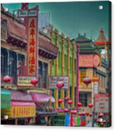 Chinatown Acrylic Print