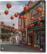 Chinatown Los Angeles 1 Acrylic Print
