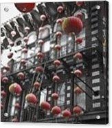 Chinatown San Francisco Acrylic Print