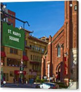 Chinatown View From St. Mary's Square Acrylic Print