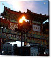 Chinatown Washington Dc Acrylic Print