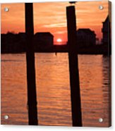 Chincoteague Sunset Acrylic Print