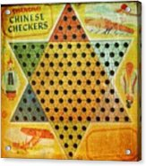 Chinese Checkers Acrylic Print
