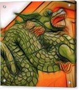 Chinese Dragon Art Acrylic Print