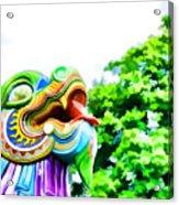 Chinese Dragon Ride Acrylic Print