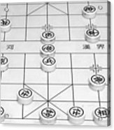 Chinese Game Board Acrylic Print