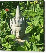 Chinese Garden Gnome Acrylic Print