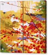 Chinese Garden Grace Acrylic Print