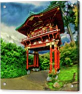 Chinese House Acrylic Print