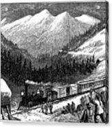 Chinese Laborers, 1868 Acrylic Print