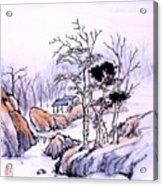 Chinese Landscape Acrylic Print