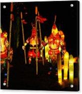 Chinese Lantern Festival British Columbia Canada 9 Acrylic Print