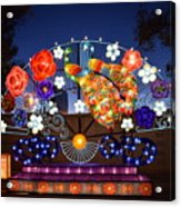 Chinese Lantern Festival Acrylic Print