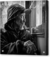 Chinese Man Acrylic Print