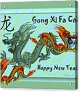 Chinese New Year - Number Nineteen Acrylic Print