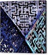 Chinese Pattern Acrylic Print