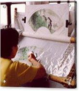 Chinese Silk Acrylic Print