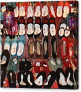 Chinese Slippers Acrylic Print