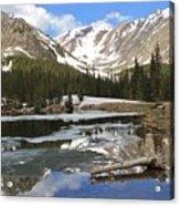 Chinns Lake Reflections 3 Acrylic Print