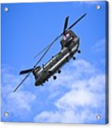 Chinook Helicopter Acrylic Print