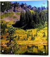 Chinook Pass Acrylic Print