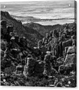 Chiricahua Hoodoo Vista Acrylic Print