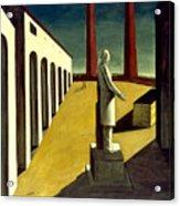 Chirico: Enigma, 1914 Acrylic Print