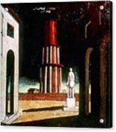 Chirico: Grand Tour, 1914 Acrylic Print