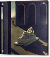 Chirico: Melancolie, 1914 Acrylic Print