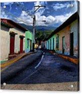 Chirimena Houses Acrylic Print