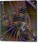 Chitin Layers Acrylic Print