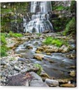 Chittenango Falls In Autumn  Acrylic Print