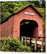 Chitwood Covered Bridge Acrylic Print