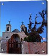 Chiu Chiu Church At Twilight Chile Acrylic Print