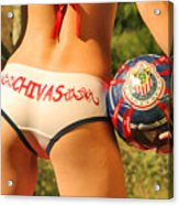 Chivas Soccer Acrylic Print