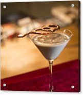 Chocolate And Cream Martini Cocktail Acrylic Print