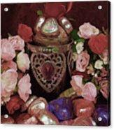 Chocolate And Romance Acrylic Print