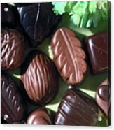 Chocolate Candy Acrylic Print