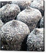 Chocolate Coconut Cakes Acrylic Print