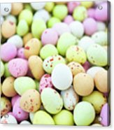 Chocolate Eggs Acrylic Print