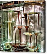 Chocolate Fountain In Bellagio Acrylic Print