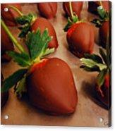 Chocolate Strawberries Acrylic Print