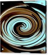 Chocolate Swirls Acrylic Print