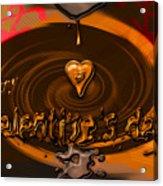 Chocolate Valentine Acrylic Print