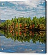 Chocorua Lake Reflection Acrylic Print