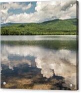 Chocorua Lake Reflections Acrylic Print