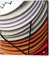 Choices - Western Hat Pileup Acrylic Print