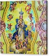 Choir Ceiling Acrylic Print