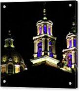 Cholula Church Acrylic Print