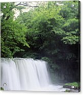 Chosi Otaki Falls Acrylic Print